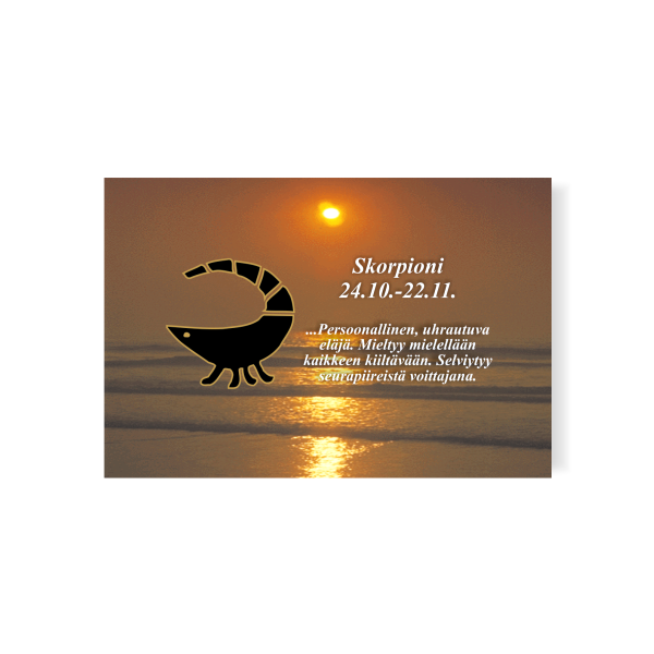 horoskooppimagneetti normaali skorpioni